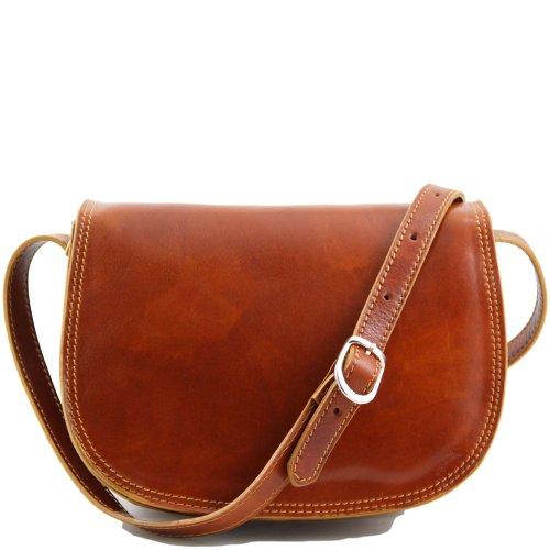 Tuscany Leather - Shoulder Bag Pigskin For Women Beige Beige