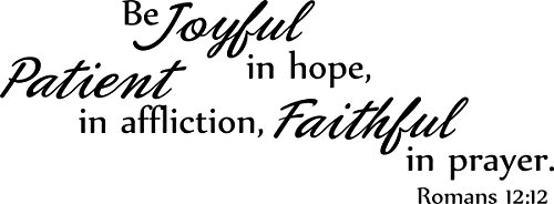 Quote Joyful Patient Affliction Faithful product image