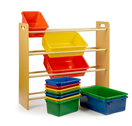 Home it toy organizer with bins you get toy storage bins for Storage solutions for toys small rooms