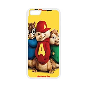 Alvin and the Chipmunks iPhone 6 4.7 Inch Cell Phone Case White SUJ8444982