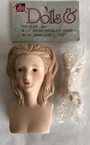 - Mangelsen's Craft 1 Set of Porcelain Lady Doll Head 3