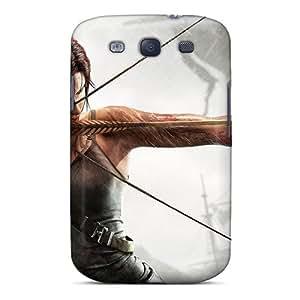 Cute Tpu Mialisabblake Tomb Raider 2013 Art Case Cover For Galaxy S3 by icecream design