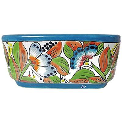 Talavera Oval Window Box (Spring) (Spring)