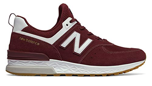 574v1 Foam Balance New Burgundy white Sneaker Fresh Men's nREZx8T