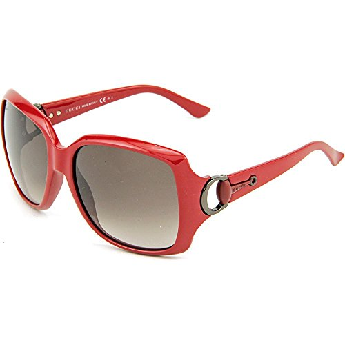Gucci GG3609/S Sunglasses-0WFT Red (HA Brown Gradient Lens)-60mm