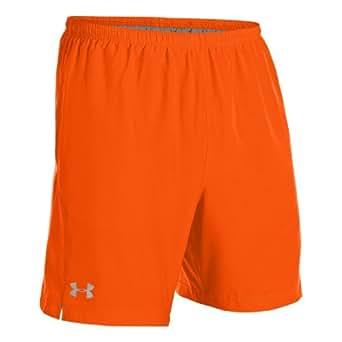 Under Armour Escape 7 Inch Woven Running Shorts - Medium - Orange