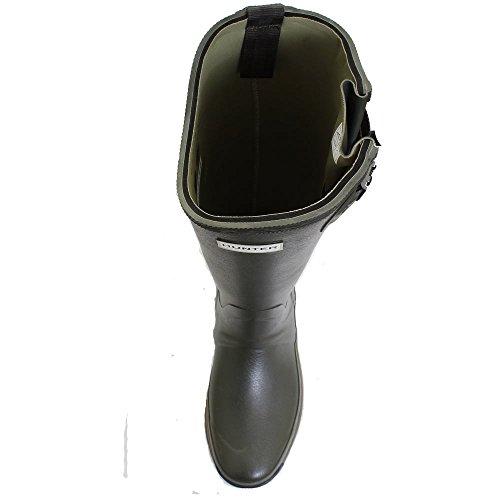 Wellington De Mens De Hunter Balmoral Lado 5mm Ajustable Neopreno Dark Olive
