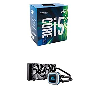 CORSAIR Hydro Series Liquid CPU Cooler Advanced RGB Lighting and Fan Software Control