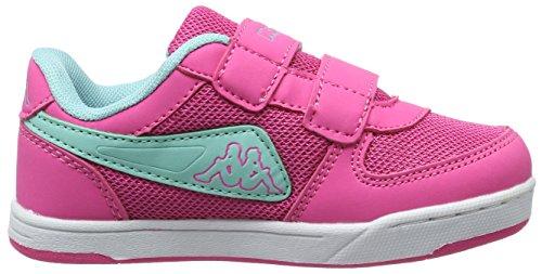 Kappa Mädchen Trooper Light Sun Kids Low-Top Pink (2737 l´pink/Mint)