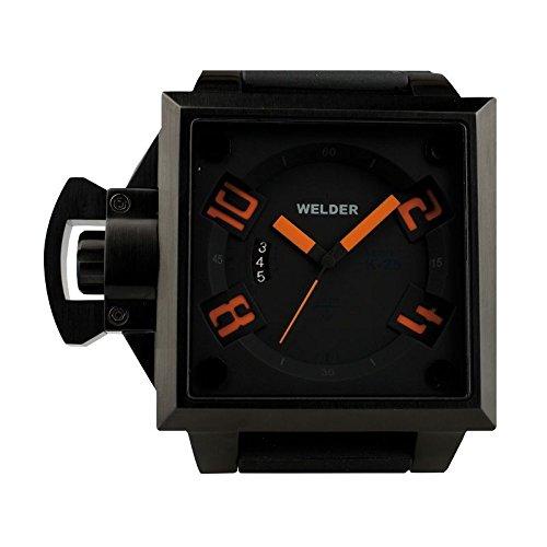 Coffret reloj Welder hombre K-25 modelo Data negra y naranja – 4102/1745