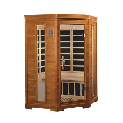 "Dynamic ""Heming"" 2-person corner Low EMF Far Infrared Sauna Review"