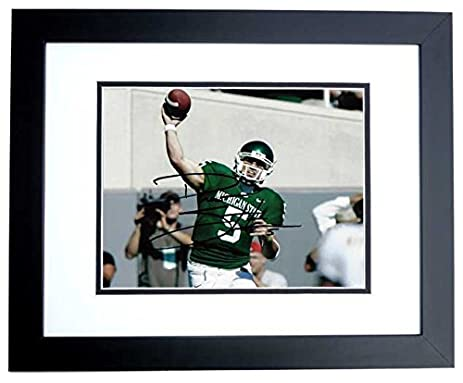 Drew Stanton Autographed - Hand Signed Michigan State Spartans 8x10 ...