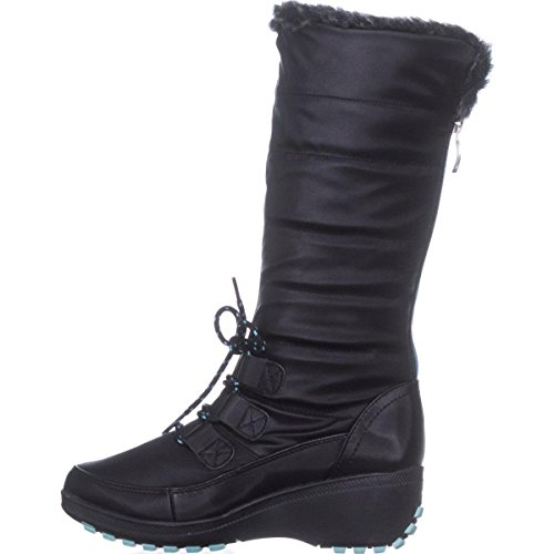 Cold Ashton Weather Black Tall Khombu Boots qB5wnZdx