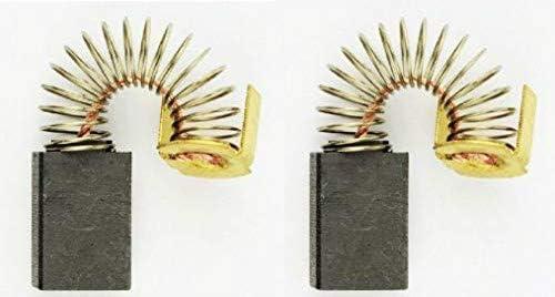 Escobillas de Carb/ón para SKIL F0151405H4 lijadora 6,4x10x15mm 2.4x3.9x5.9