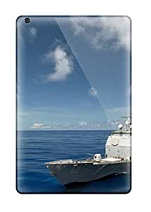 Hot Snap-on Best Navy Ship Hard Cover Case/ Protective Case For Ipad Mini/mini 2 BY icecream design
