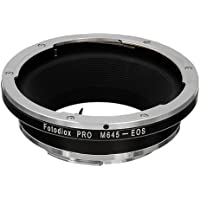 Fotodiox Pro Lens Mount Adapter - Mamiya 645 (M645) Mount Lenses to Canon EOS (EF, EF-S) Mount SLR Camera Body