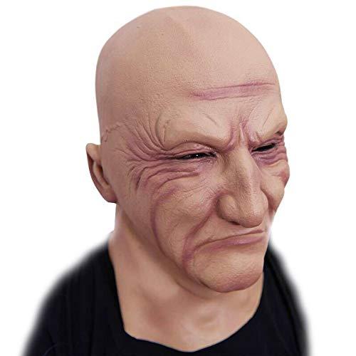 Emorias 1 Pcs Máscara de Halloween Frankenstein Fantasma Látex Cabeza Maquillaje Fiesta de Baile: Amazon.es: Juguetes y juegos