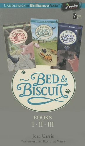Bed & Biscuit, Books 1, 2, & 3 by Scobre Press