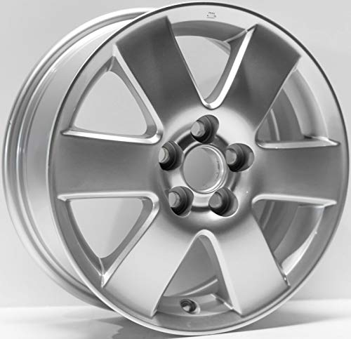 Partsynergy Replacement For New Replica Aluminum Alloy Wheel Rim 15 Inch Fits 03-08 Toyota Corolla 6 Spokes 5-102mm