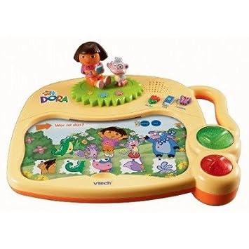 VTech 80-067204 - Aprender ordenador portátil Dora Tarjeta [Importado de Alemania]: Amazon.es: Juguetes y juegos