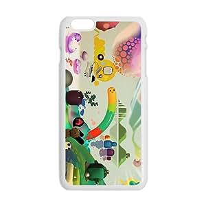 Attractive Creative Cartoon Pattern Custom Protective Hard Phone Cae For Iphone 6 Plus