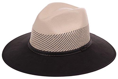 Velvet Cowboy Hat (Enimay Western Outback Cowboy Hat Men's Women's Style)