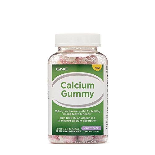 GNC Calcium Gummy - Fruit and Cream