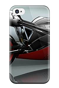 Hot JnYHjyZ6834MtQRO Motorcycles Atv Peugeot Tpu Case Cover Compatible With Iphone 4/4s