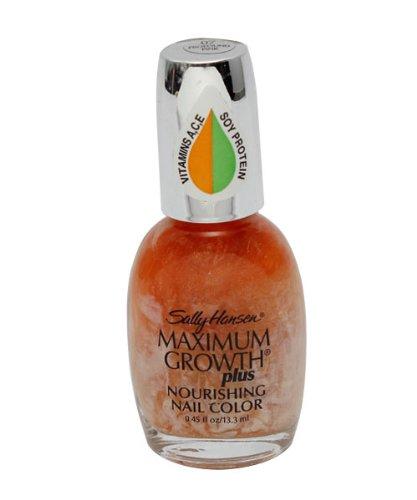 Sally Hansen Maximum Growth Plus Nourishing Nail Color Polish, Tender Mulberry 31