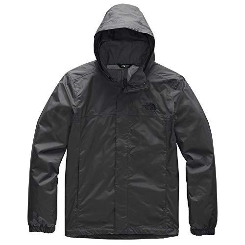 (The North Face Men's Resolve 2 Jacket, Asphalt Grey/TNF Black,)