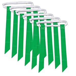 Champro A105 Flag Belts, 6 Package (Kelly)