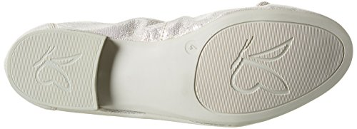 Caprice paillettes Caprice Ballerines 22166 Offwht Femmes Blanches 22166 a4gqd4