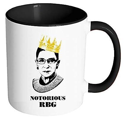 cd64fb6c561 Notorious RBG Mug - Ruth Bader Ginsberg Giclee Coffee tea Mug Cup Gift for Law  Students