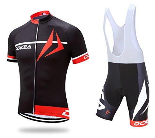 スイス人とらえどころのないディスクDOKEA® 半袖 サイクルジャージ 上下セット 自転車ウエア 半袖ウェアセット  メンズ  ツーリング時期夏用 速乾吸汗 通気がいい