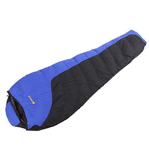 YUHUS Home Outdoor-Schlafsack Bergsteigen Camping Winter Mumienschlafsack Dick und Ultraleicht (Größe   C)