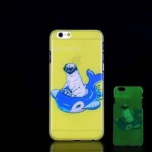 WQQ Funda Trasera - Diseño Especial/Innovador/Fosforescente - para iPhone 6 Plus Plástico )