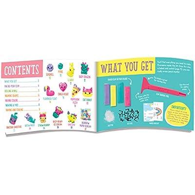 Klutz Make Mini Eraser Cuties Craft Kit: Toys & Games