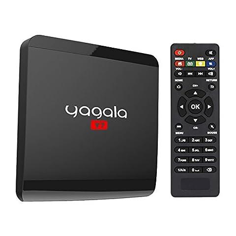 Android 6.0 TV Box 1GB RAM 8GB ROM RK3229 Quad Core Media Player support 4K HD Wifi HDMI - 802.11b/g Plus Bluetooth