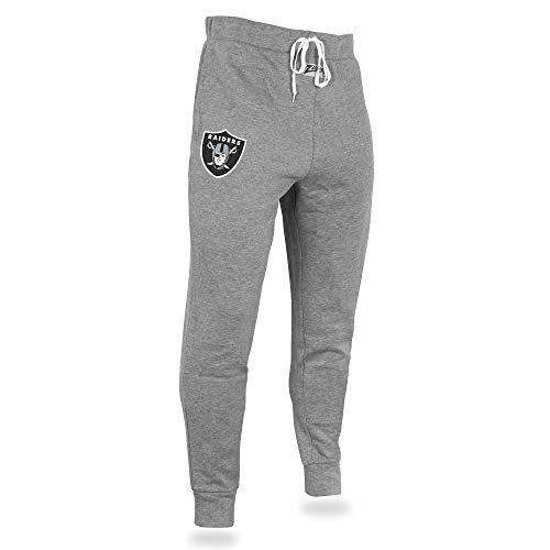 - Zubaz NFL Oakland Raiders Men's Joggers, Gray, X-Large