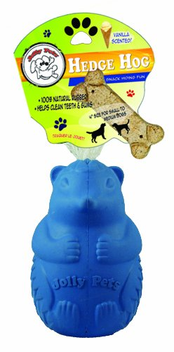 Jolly Pets Hedge Hog Dog Toy, 4.7-Inch, My Pet Supplies
