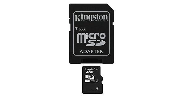 Amazon.com: Tarjeta microSDHC Kingston de clase 4 y con ...