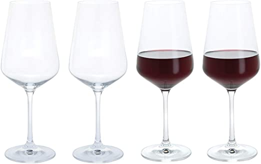 Cheers! Red Wine Glasses (4 Pack) from