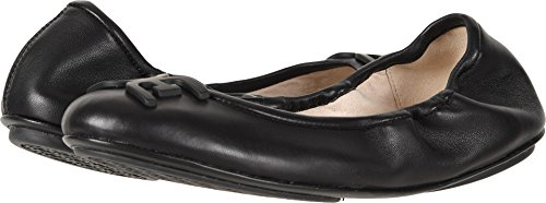Sam Edelman Women's Florence Ballet Flat, Black Leather, 7 M US