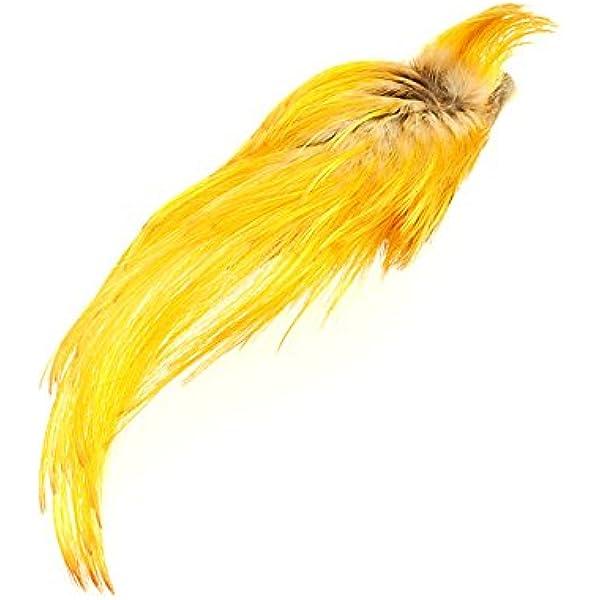 Hareline Dyed Golden Pheasant Crest