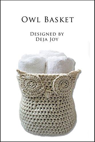 Crochet Pattern Basket (Owl Basket)