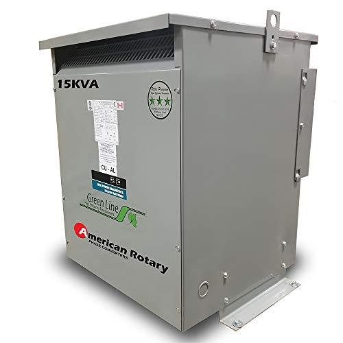 15 kVA 240D/208D Volt Primary to 208D/240D Volt Secondary 3 Phase Transformer