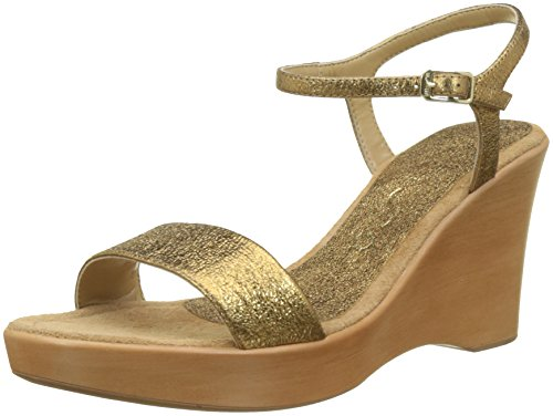 Unisa Open Sandals Gold Gold Old Gold Women's se 18 Rita Toe Old UFRxnrWUA