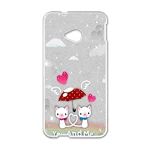 you and me snow love personalized high quality cell phone case for HTC M7