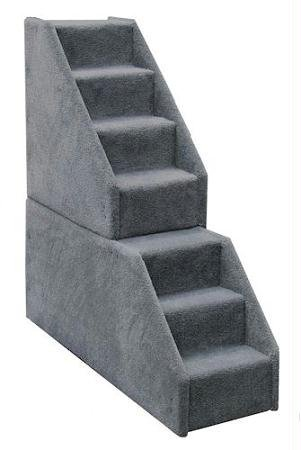 Bear's Stairs Mini Carpeted 7 Step Pet Stair Color: Beige by Bear's Stairs
