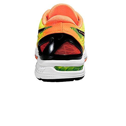 Asics Gel-DS Trainer 21, Scarpe Running Uomo, FlashYellow/Black/HotOrange arancione